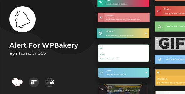 Alert For WPBakery Page Builder(Visual composer) - CodeCanyon Item for Sale