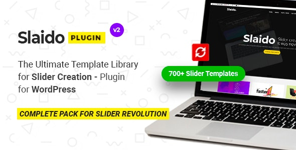 Slaido - Template Pack for Slider Revolution WordPress Plugin - CodeCanyon Item for Sale