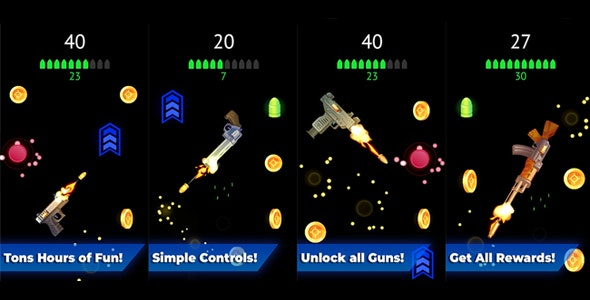 Flip The Gun - Arcade - CodeCanyon Item for Sale