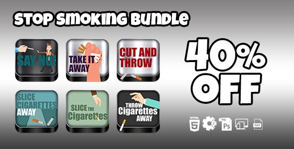 Stop Smoking Games Bundle
