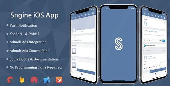 Sngine iOS Application