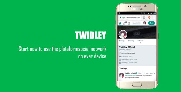 Twidley - The Pro Social Network