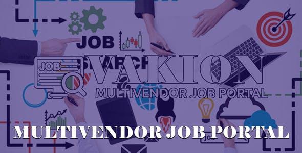 Vakion - Multi Vendor Job Portal
