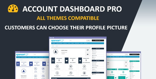 Account Dashboard Pro - CodeCanyon Item for Sale