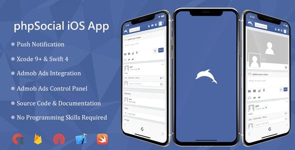 phpSocial iOS Application