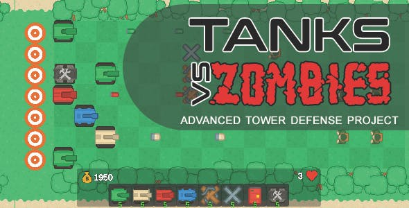Tanks Vs Zombies Advanced Starter Kit - iOS