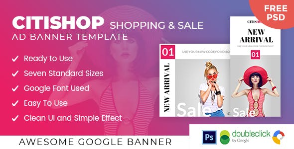 Citishop | Shopping HTML 5 Animated Google Banner