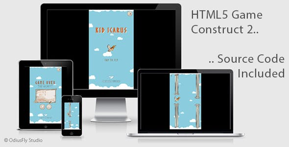 Kid Icarus - HTML5 Game (Construct 2)