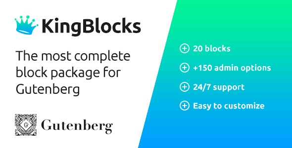 KingBlocks - Amazing Gutenberg Blocks - CodeCanyon Item for Sale