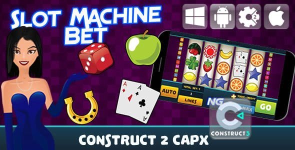 Slot Machine Bet - Html5 Game (Capx)