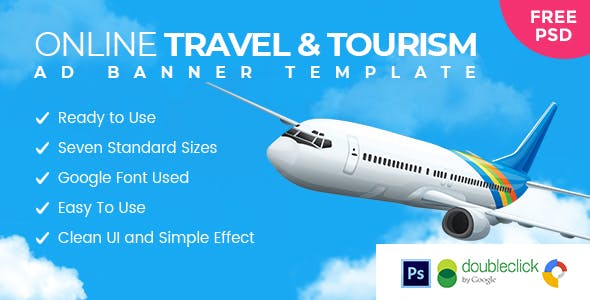 Sky Ride | Travel  HTML 5 Animated Google Banner