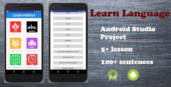 Learn Language (Android Application)