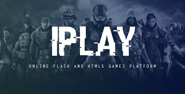 iPlay - Online Flash and HTML5 Games Platform - CodeCanyon Item for Sale