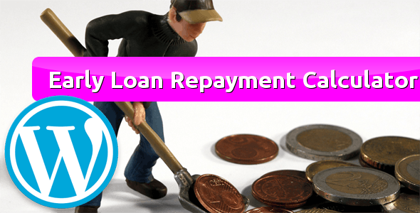 Early Loan Repayment Calculator for WordPress