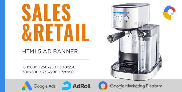 Sales & Retail - Banner Ad Templates – HTML5 Animated GWD