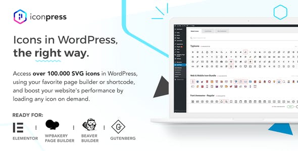 IconPress Pro - Icon Management for WordPress