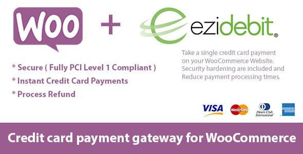 WooCommerce Ezidebit Gateway