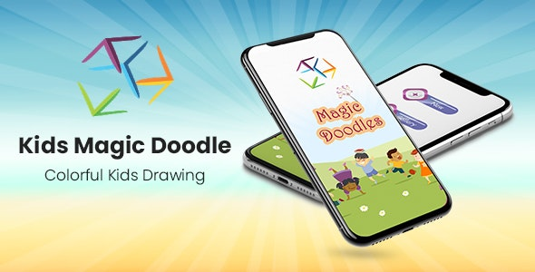 Kids Magic Doodles - Colorful Kids Drawing - CodeCanyon Item for Sale