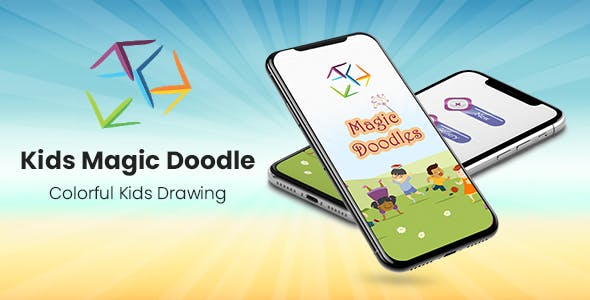 Kids Magic Doodles - Colorful Kids Drawing