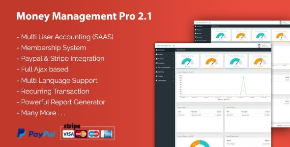 Money Management Pro 2.1 - CodeCanyon Item for Sale