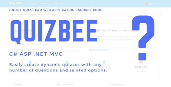 Online Quiz Application in C# ASP .Net MVC