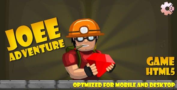 Joee Adventure (CAPX & HTML + C3) Game!