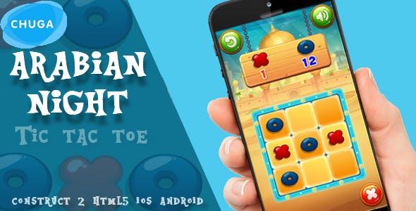 Arabian night-tic tac toe