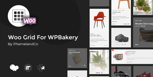 Woo Grid For WPBakery Page Builder (Visual Composer)