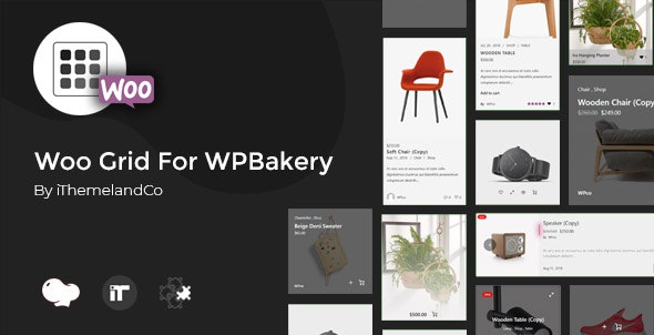 Woo Grid For WPBakery Page Builder (Visual Composer) - CodeCanyon Item for Sale