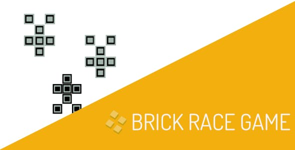 Brick Race Game of Tetris Source Code for Buildbox Android Xcode