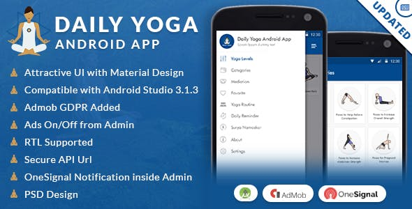 Daily Yoga Android App