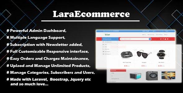 LaraEcommerce - Modern Online Business