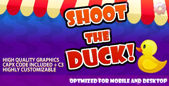 Shoot The Duck - (C2 & C3 + HTML5) Game!