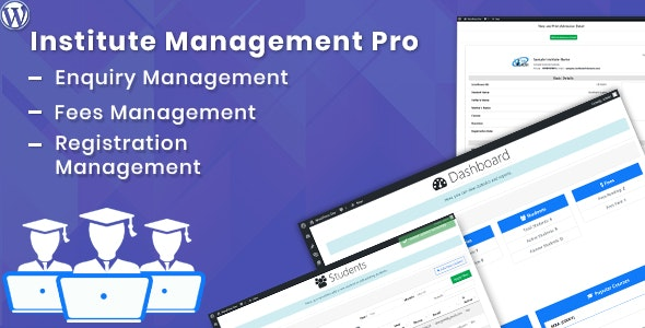 Institute Management Pro - CodeCanyon Item for Sale