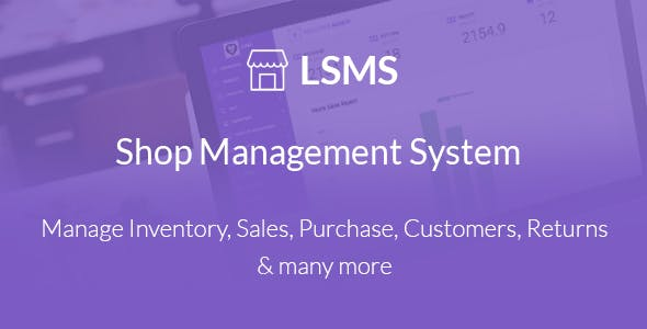 LSMS Shop Management System