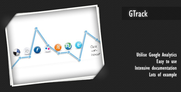 GTrack - CodeCanyon Item for Sale
