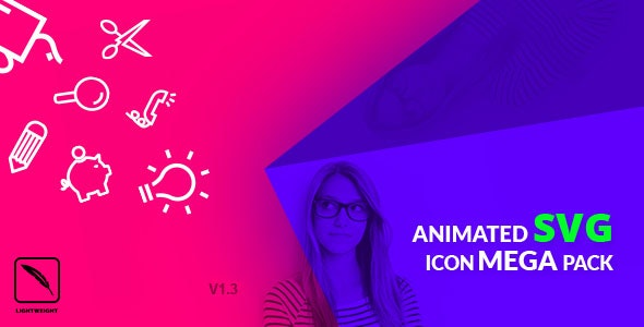 Animated SVG Icon Mega Pack by Themecop | CodeCanyon