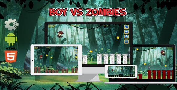 Boy vs Zombies - CodeCanyon Item for Sale