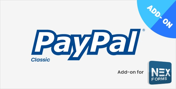PayPal for NEX-Forms by Basix | CodeCanyon
