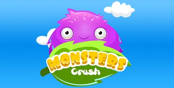 Game three in a row of crash monsters - Swift 3, Xcode Project