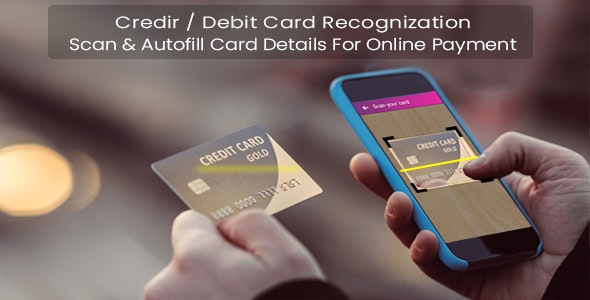 Credit / Debit Card Recognition - CodeCanyon Item for Sale