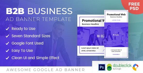 B2B | Business HTML 5 Animated Google Banner - CodeCanyon Item for Sale