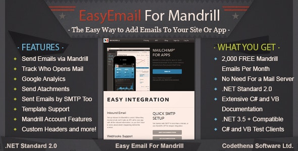 Easy Email For Mandrill - CodeCanyon Item for Sale
