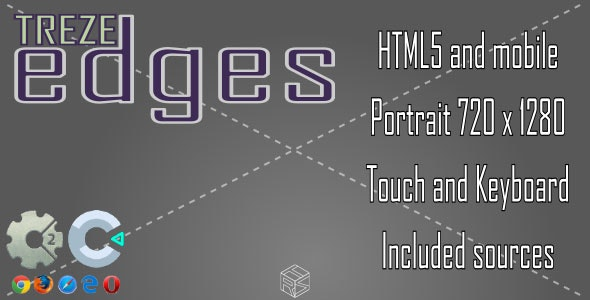 treze-Edges - HTML5 Casual Game - CodeCanyon Item for Sale