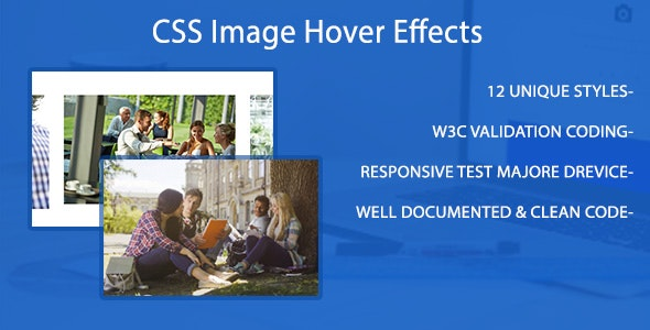 TamaHovers - Responsive CSS3 Image Hover Effects - CodeCanyon Item for Sale