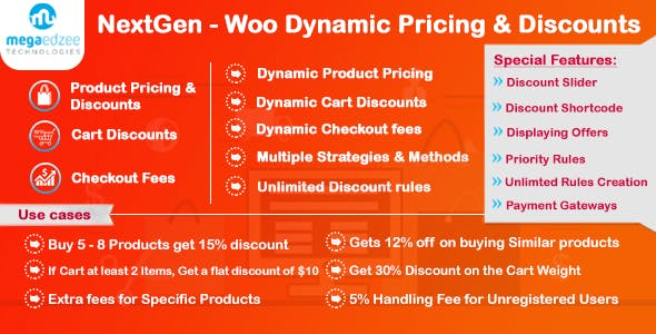 NextGen - WooCommerce Dynamic Pricing and Discounts