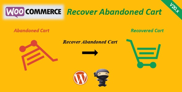 WooCommerce Recover Abandoned Cart by FantasticPlugins