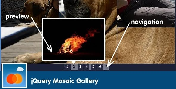 jQuery Mosaic Gallery