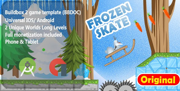Frozen Skater -  Adventure Game Template