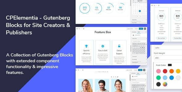 CPElementia - Gutenberg Blocks for Site Creators